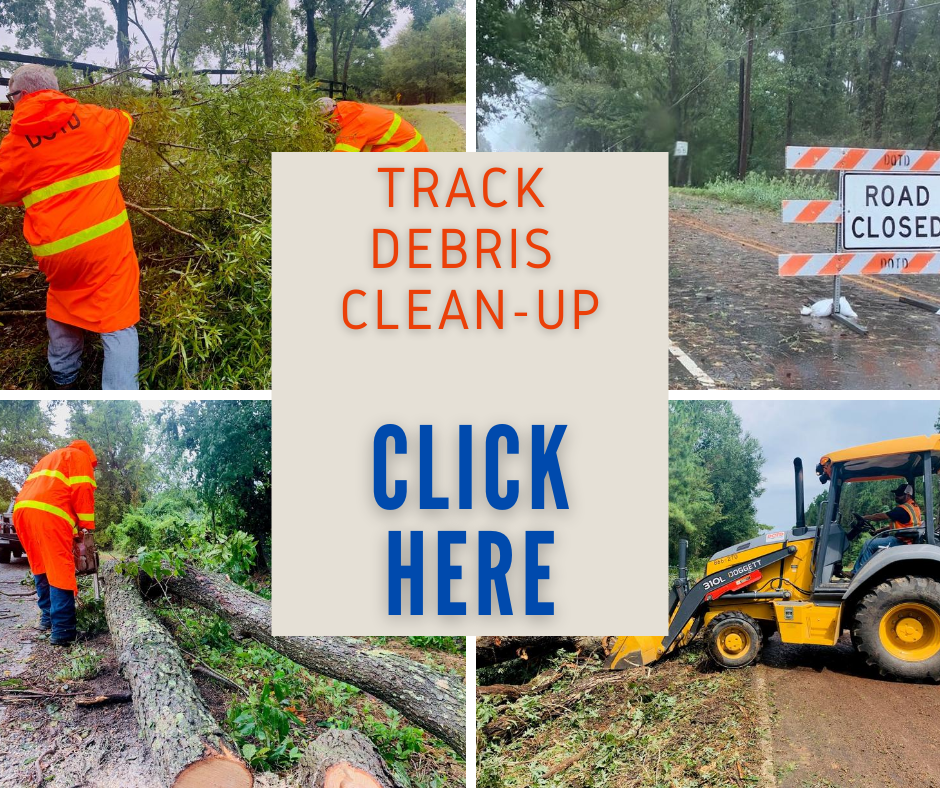 Track Debris Clean-up